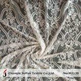 Commercio all'ingrosso francese del tessuto del vestito da cerimonia nuziale del merletto (M2139)