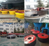 Gold Ore Extraction를 위한 2 Roller Wet Pan Mill
