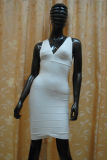 Low-Cut tiefe v-Stutzen Bodycon Kleider