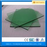 CCC/En12150/SGCC/Bsi/Csiの証明書の平らなか曲げられた8mm Fの緑の緩和されたガラスの工場