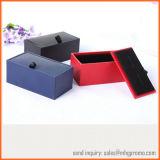 Qualitäts-schwarzer Samt-Manschettenknopf-Kasten für Schmucksachen und Geschenke