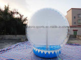 3M Inflatable Christmas Snow Globe Bubble Tent per Advertizing