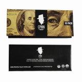 Papel de rolamento de fumo de $100 Bill