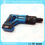 Zoll 2D Drill Shape USB Flash Drive mit Logo (ZYF1059)
