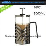 Brocca di vetro libera del creatore di caffè della teiera nel prezzo di fabbrica