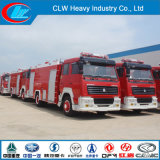 Sinotruk HOWO 4X2 Fire Fighting Truck