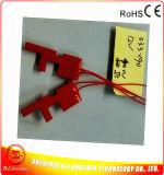 calefator da borracha de silicone 12V para a tubulação 40W 33.3*90*1.5mm do metal