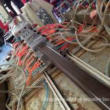 Máquina ao ar livre da extrusão do revestimento de WPC