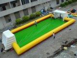 Corte de campo inflable del voleibol de los juegos del deporte de agua