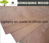 Madeira compensada comercial do folheado chinês de Bintangor da madeira compensada com 18mm 16mm