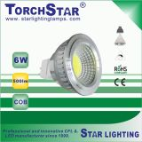 Het goede LEIDENE van de MAÏSKOLF van het Aluminium van de Kwaliteit 6W Licht van de Vlek met Lang Leven 30000hrs