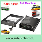 4 / 8CH 3G / 4G WiFi HDD Rugged Vehicle DVR para sistema CCTV