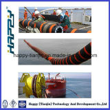 Manguito flotante marina del petróleo crudo de la salida