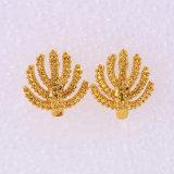 24k de gouden Oorring van de Juwelen van de Manier van de Kleur (25658)