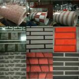 Hersteller des niedrigster Preis-unterschiedlicher Farben-Bedingungs-Ziegelstein-Muster-PPGI