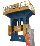 1000 toneladas de prensa de planchar caliente para SMC 10000kn compuesto