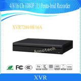 1개의 기록병 (XVR7216A)에 대하여 Dahua 16 채널 Penta-Brid 1080P 1u 5