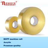 El tipo del pegamento piezosensible y pegamento del rodillo de BOPP echaron a un lado cinta del uno mismo para la máquina