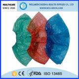 Desechables de plástico PE / CPE tapa de la zapata