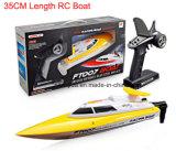 35cm Länge 20 km / H 4-Kanal-roten oder gelben Fernbedienung Boot