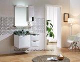 서랍을%s 가진 대리석 최고 잘 고정된 메이크업 LED 가벼운 목욕탕 허영을 착색하십시오