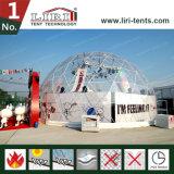 Estructura de la tienda del globo de la innovación con la cubierta y la puerta de PVC clara