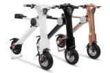 3大人のための電気スクーターを折るカラー2車輪K様式