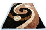Matéria têxtil Shaggy de Populationg do tapete do tapete de área