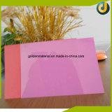 Tampa de livro transparente da nota do emperramento plástico do PVC do tamanho A4