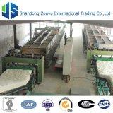 cadena de producción de la manta de las lanas de la fibra de cerámica 5000t