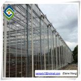 Estufas galvanizadas do anúncio publicitário da tampa de vidro do túnel da construção de aço