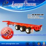De Semi Aanhangwagen van het Vervoer van de Container van het Skelet van de Leverancier van China