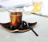 Copo de café feito na mão de parede dupla Copo de cerveja Copo de café