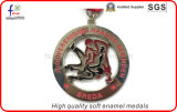 Medaglie molli di sport delle medaglie di Pated del nastro dello smalto di alta qualità
