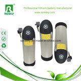 36V 9ah Wasser-Flasche Li-Ionbatterie für elektrisches Fahrrad mit Aufladeeinheit 2A