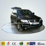 Plataforma giratória giratória do carro de 360 graus para o indicador