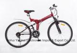Bicicleta de montanha dobro da suspensão de 26 polegadas com freio de V (YK-MTB-026)