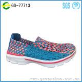 Фабрика ботинок Китая новой женщины прибытия удобная связанная верхняя