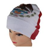 Cappello normale del Beanie del tessuto del jacquard