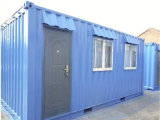 Casa prefabricada respetuosa del medio ambiente del panel de emparedado del aislante para la vida temporal