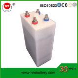 Batteria profonda al ferro-nichel del ciclo della batteria 1.2V 700ah di /Solar della batteria Ni-Tecnico di assistenza per Energery solare