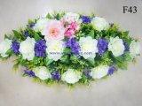 Flor romântica da decoração do carro do casamento do lírio de Rosa