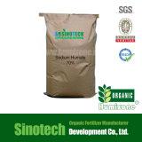 Fertilizante do floco 70% de Humate do sódio da fonte de Leonardite
