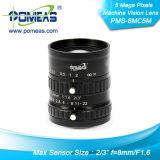 """2/3 de """" de lente da visão por computador Fl12mm com alta resolução"""