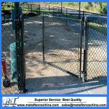 Frontière de sécurité de yard de maillon de chaîne de stationnement de passage d'animal familier de crabot