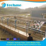 Очищение поверхностной вода матерчатым фильтром Волокна