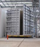 Tipo fornace variabile del carrello di trattamento termico del gas