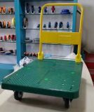 300kg Plastic Foldable Hand Truck mit PU Caster