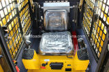 Sweeper를 가진 살쾡이 Skid Steer Loader Mini Skid Steer Loader