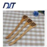 Естественный высекая деревянный мед активный штанга с выполненный на заказ